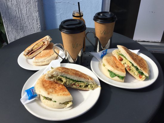 Maitland, Australia: 2x Toasted Turkish with chicken and pesto, and 1x bacon and egg role.