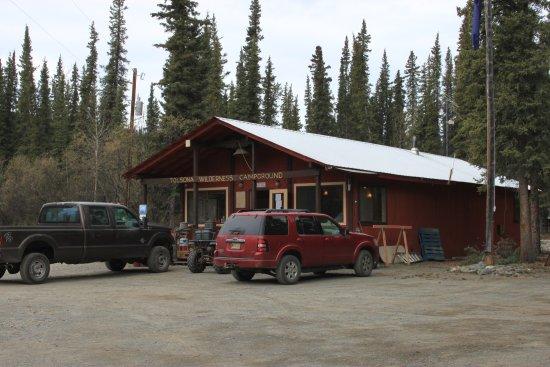 Glennallen, Аляска: Campground office
