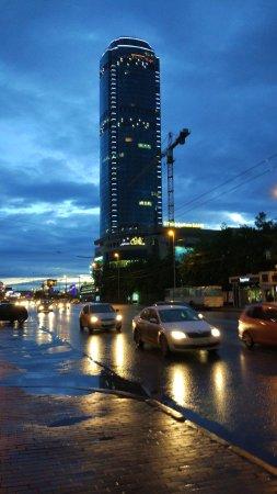 """Visotsky Business Center Lookout : Смотровая площадка бизнес центра """"Высоцкий"""""""