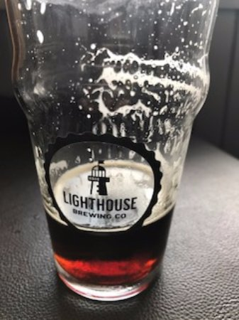 Lighthouse beer, Union Street Grill 477 5th St, Courtenay, British Columbia