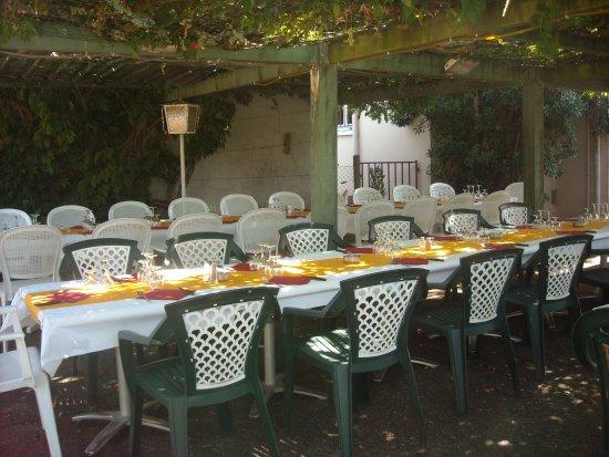 Hagetmau, Франция: terrasse