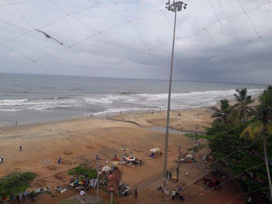 Hindustan Beach Retreat: View from restaurant
