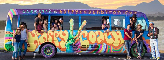 Happy Coach Byron Bay to Nimbin Tours