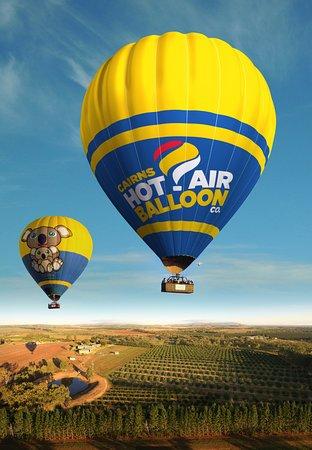 Cairns Hot Air Balloon - YouTube