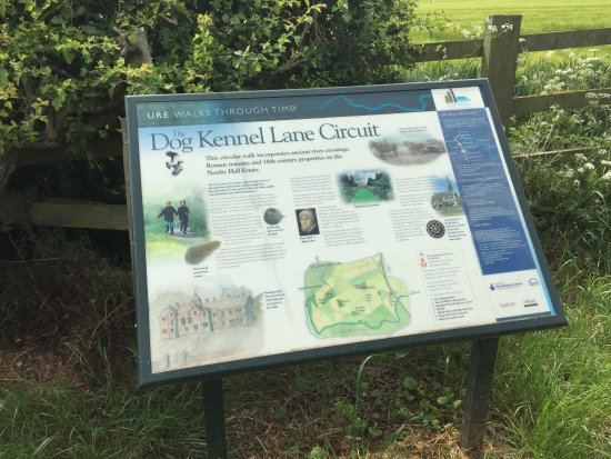Boroughbridge, UK: The Dog Kennel Lane Circuit