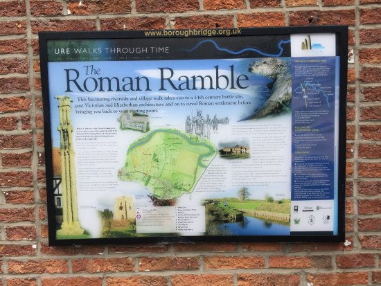 Boroughbridge, UK: The Roman Ramble
