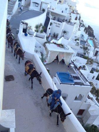 Villa Renos: Wonderful views outside our room