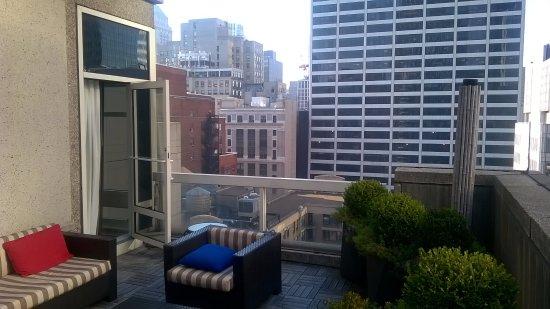 Sofitel New York: terrazza della suite