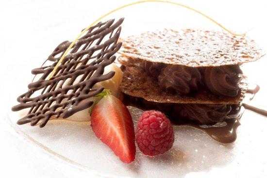 Hotel Ligaro : Dessert du Chef Ludovic Merle
