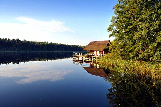 Hotel Döllnsee-Schorfheide: Badehaus mit Sauna am Döllnsee