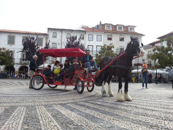 Leiria District, โปรตุเกส: Experiencia de Charrete no centro da Cidade
