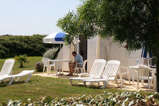 VVF Villages Belle-Ile-en-Mer: Terrasse du logement