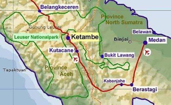 Hasil gambar untuk Maps Kutacane