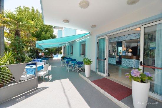 Hotel Albicocco: giardino terrazza