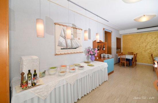 Hotel Albicocco: zona buffet