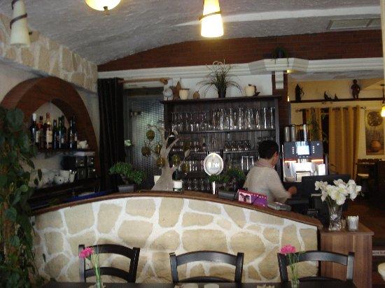 Alte Schmiede: Bar area.