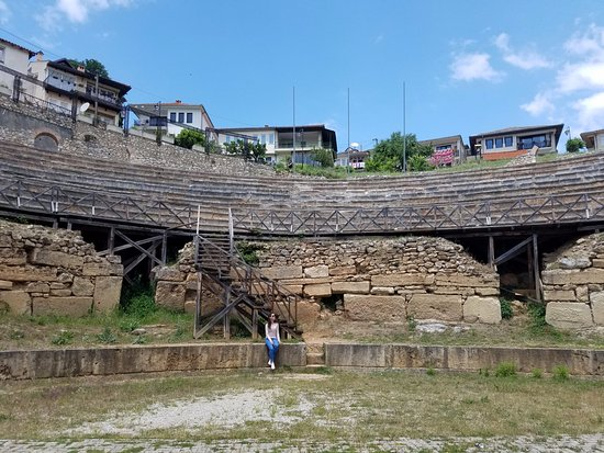 Ancient Theatre of Ohrid : The Ancient Theatre
