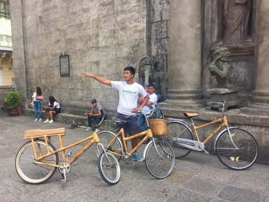 Bambike Ecotours Intramuros: Russell our tour guide
