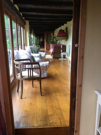 Castagnea, Italia: veranda