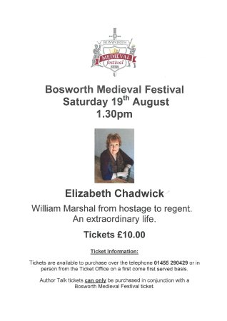 Sutton Cheney, UK: Elizabeth Chadwick Poster