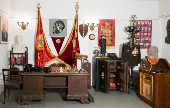 Kaunas, Lituania: KGB Chief Cabinet