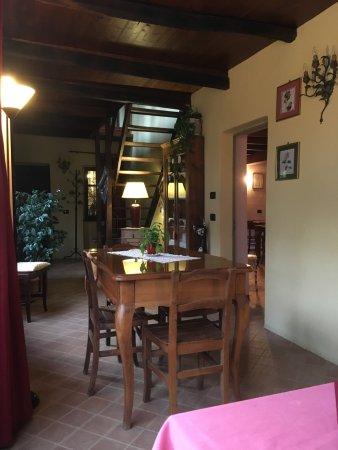 Castagnea, Italia: sala da pranzo
