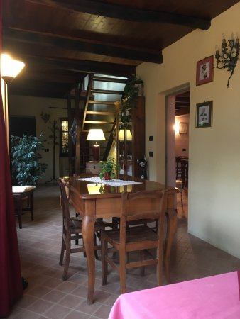 Castagnea, Italie : sala da pranzo