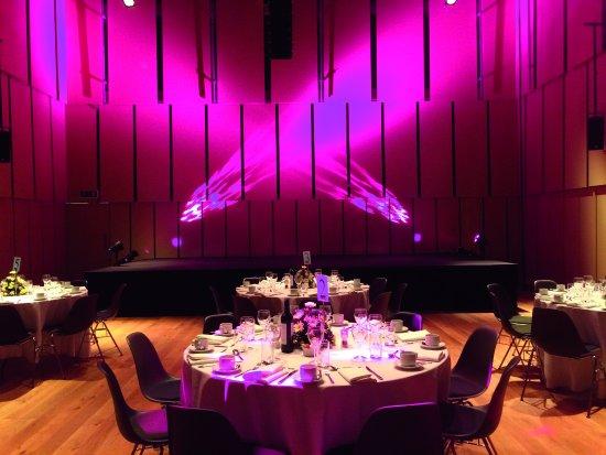 Liverpool Philharmonic Music Room Dining Set Up