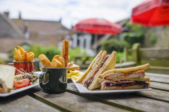 Axbridge, UK: Freshly cooked food