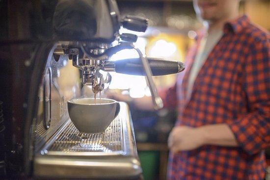 Axbridge, UK: Great coffee
