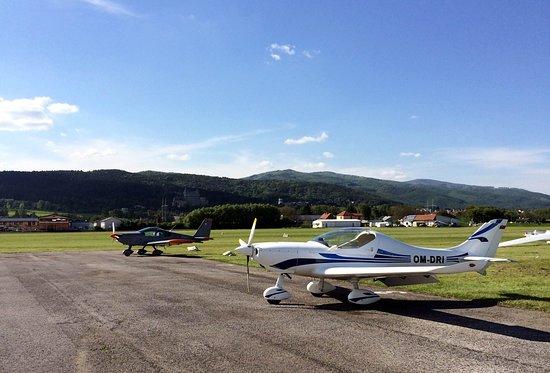 Prievidza, Slovaquie : View from AERO REST