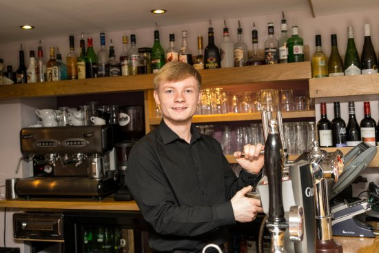 The Cellar: Welcoming smile every time.