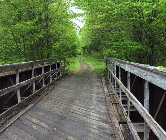 Gorham, NH: well maintained bridges and trail