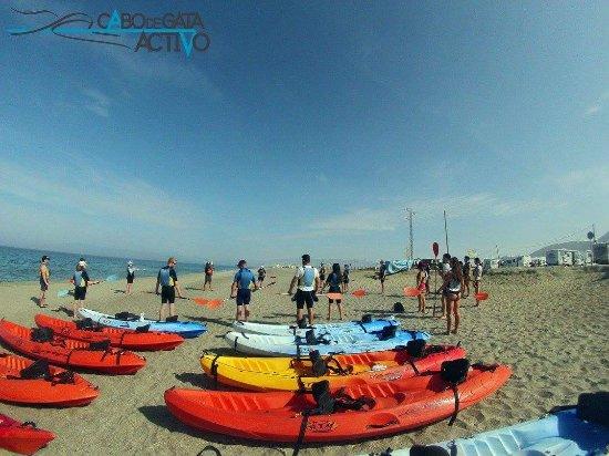Cabo de Gata, Spania: Playa de La Fabriquilla