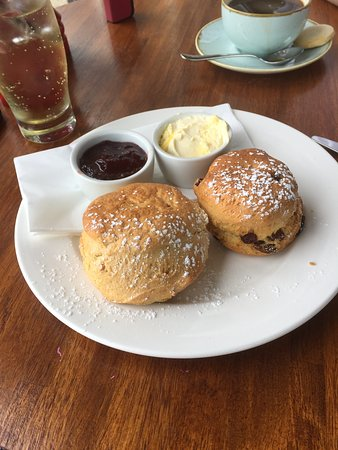 Tea and scones at the Terrace