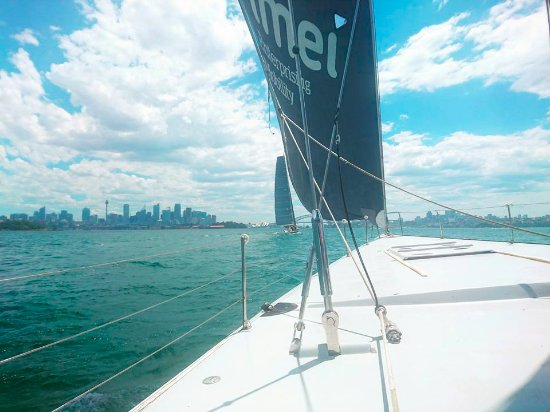 Explore Sailing - America's Cup Sailing Experience: Taking part in the race