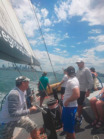 Explore Sailing - America's Cup Sailing Experience: Taking part