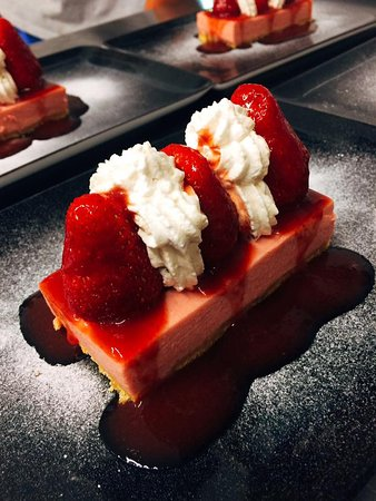 Saint-Vigor-le-Grand, Francia: dessert fraises