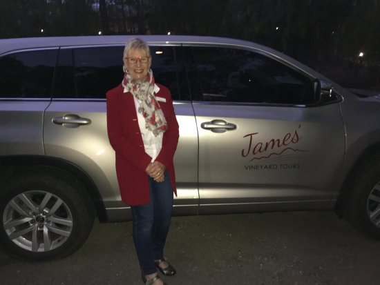 Singleton, Australia: Adrienne from James Vineyard Tours - Thanks again you were amazing!