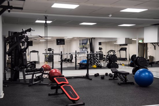 Sandviken, Suecia: Gym dit alla våra gäster har tillträde.