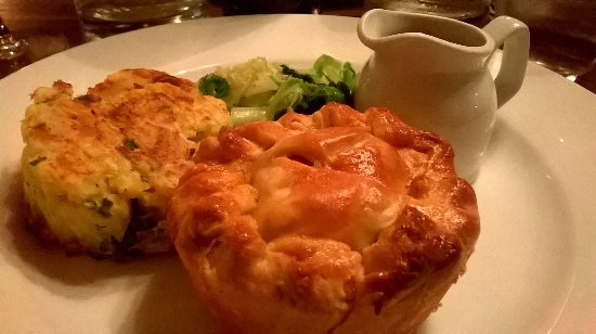 Hartest, UK: Pork belly and chorizo pie