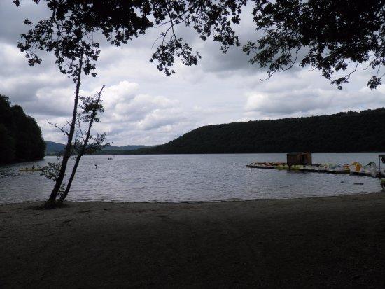 Doucier, France : lac de chalain