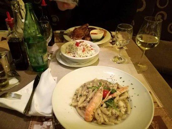 Gardens Restaurant: dinner