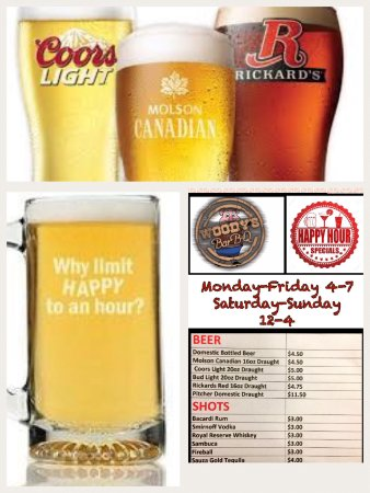 St. Stephen, Canadá: Great Happy Hour Specials Daily