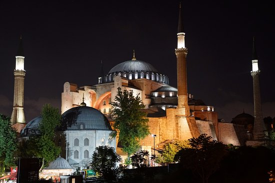 Four Seasons Hotel Istanbul at Sultanahmet: View from rooftop lounge
