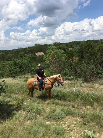 Glen Rose, TX: Look out on horseback Trail ride