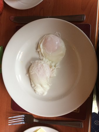 Ardlui, UK: Two poached eggs - literally