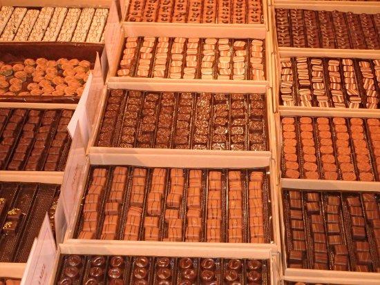 Saint-Michel-Sur-Orge, Francia: les bonbons de chocolat
