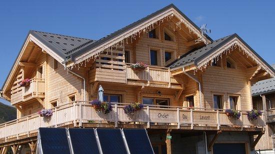 Fontcouverte-la-Toussuire, Frankrike: Chalet du Levant, chambres d'hotes à La Toussuire, Les Sybelles, Maurienne, Savoie