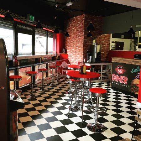 route 66 diner grill bar enniskillen restaurant reviews phone number photos tripadvisor. Black Bedroom Furniture Sets. Home Design Ideas